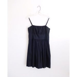 Theory sz 4 black Yumi Luxe spaghetti strap dress